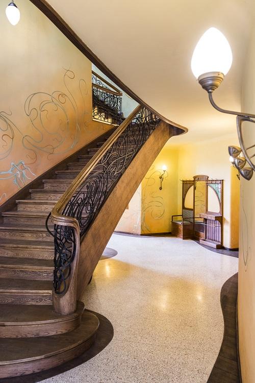 Terrazzo Berlin Treppe Foyer