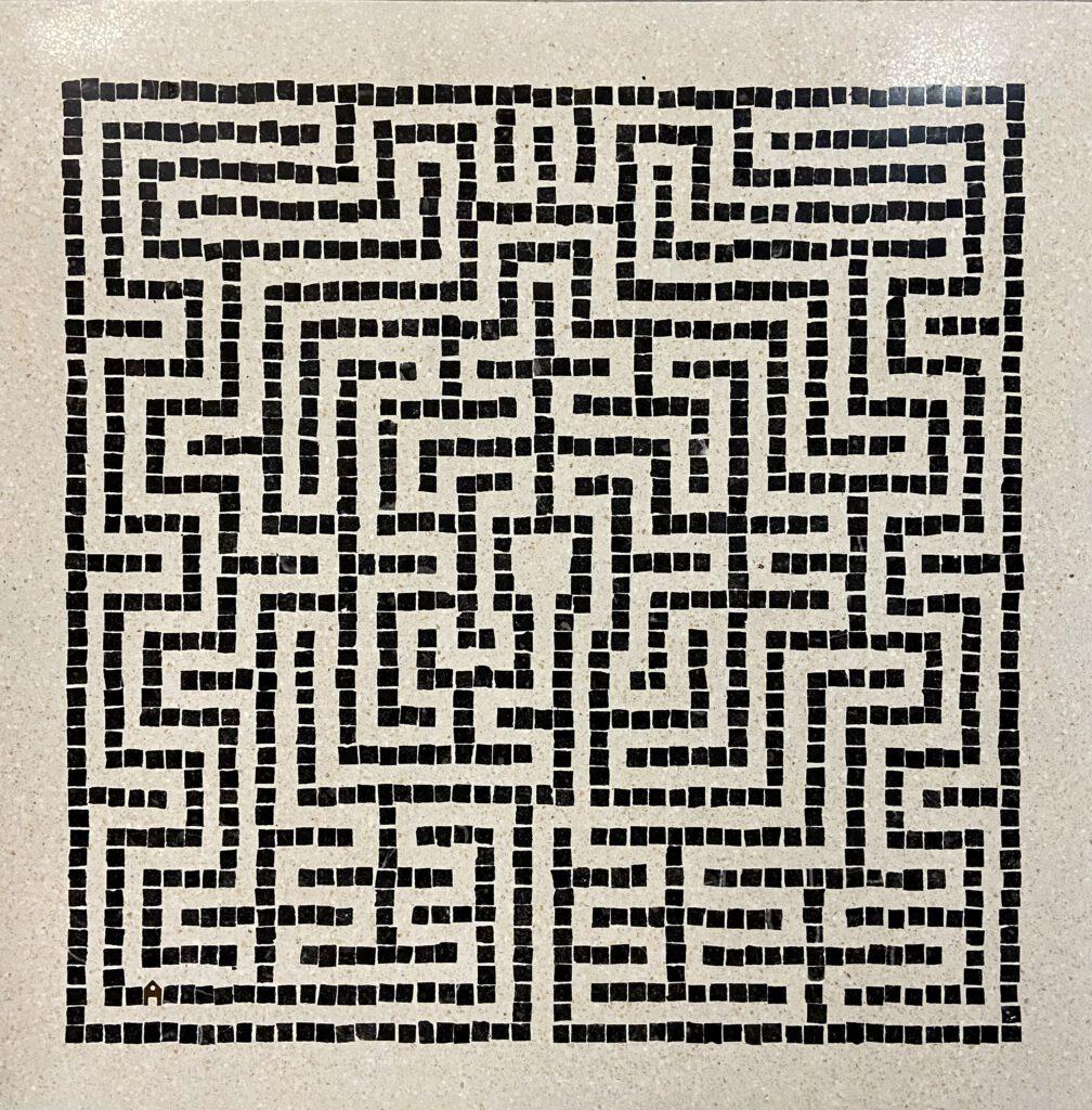 Arabeske Labyrinth Terrazzo Berlin